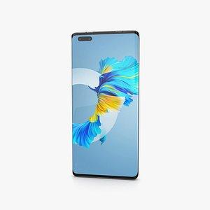 Huawei Mate 40 Pro Mystic Silver 3D