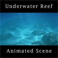 Underwater Reef Scene Animated