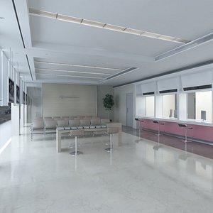 Bank Office Branch model