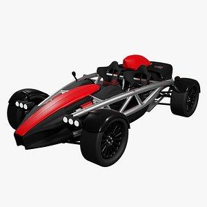 3D arielatom4 car model