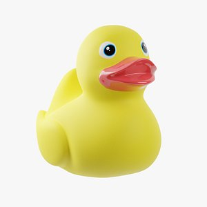3D Rubber Ducky model