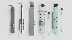 bathroom hydraulic 3D model