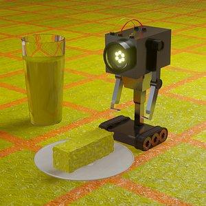 3D robot butter