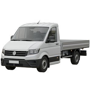 VW Crafter 2 Flatbed Truck model