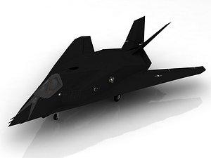 3D F 117 NightHawk V2