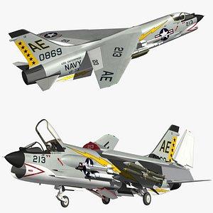 F8 Crusader VF33 model