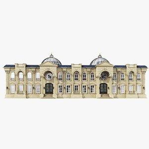 Classic Villa 3D Model model