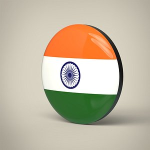India Badge 3D model