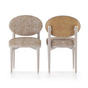 chair furniture frato crete 3D model