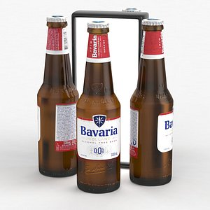 3D beerbottle piwo