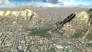 Arabic Mega City model