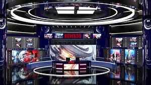 news studio model