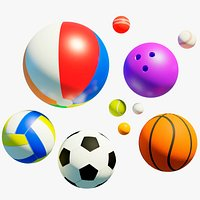 10 sport balls