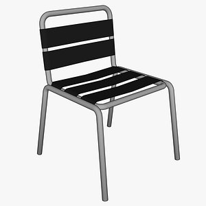 3D aluminium chair