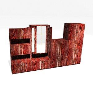 3D 3D Polish furniture wall