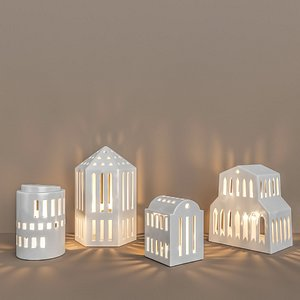3D model urbania lighthouse