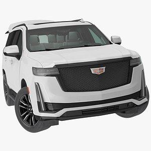 3D Cadillac Escalade 2021 Rigged