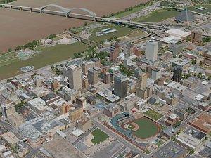 3D memphis city