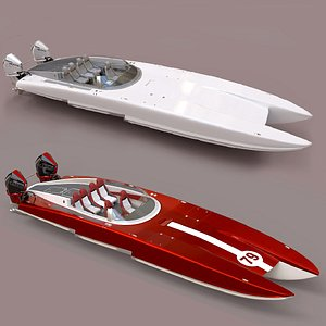 Collection: Powerboat C3800 3D