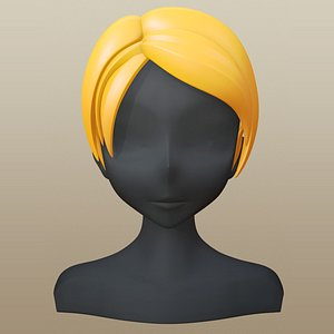 3D hair character girl