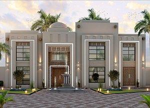 3D model villa NEW CLASSIC