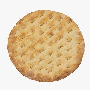 3D pita bread 01 raw