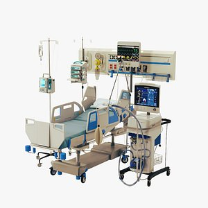 3D model equipment icu