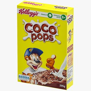 cereal s coco 3D model