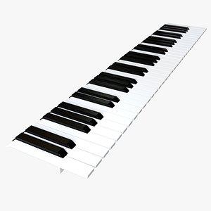 keyboard key 3D model