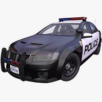 Generic American Police car