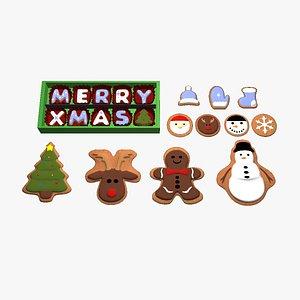 galletas galletasdenavidad 3D