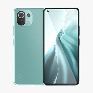 Xiaomi Mi 11 Lite Green model