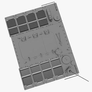 GT Engine Deck 3D model