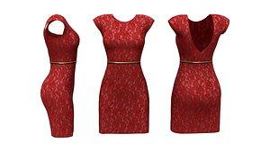 Sheath Dress 3D model