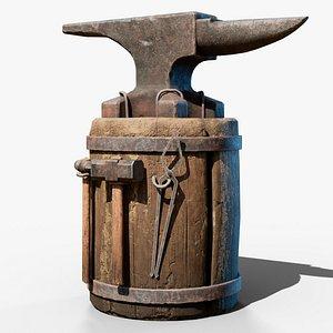 anvil gameready model