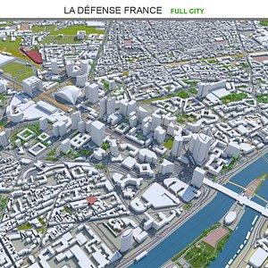 3D model La Defense France