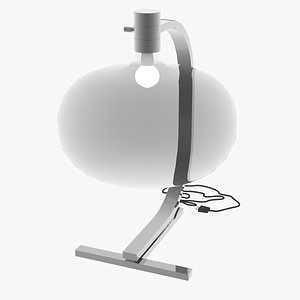 3D model cassina as1c lamp