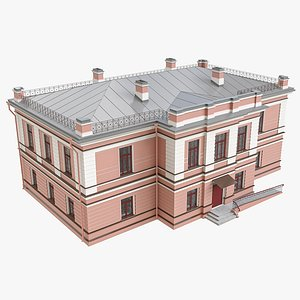 3D Mansion Residential Building
