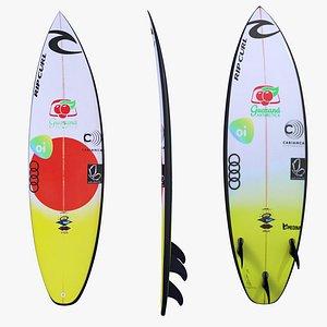 Surfboard Gabriel Medina model