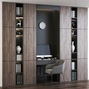 Furniture composition 6 3D model