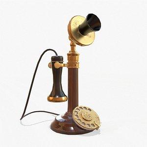 Retro Telephone model