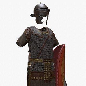3D Roman Legionary Gear model