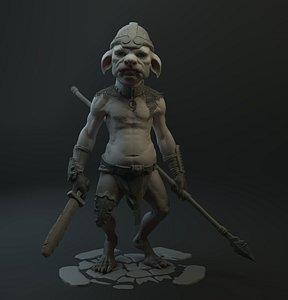 warrior Goblin Slayer 3D model