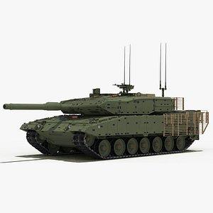 Leopard 2A4M CAN 3D model
