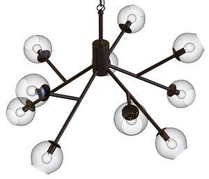 chandelier lamp lights model