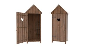 ready tool shed 3D model