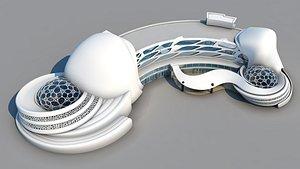 curve hotel - files 3D