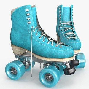 3D model Roller Skates v2 3d model