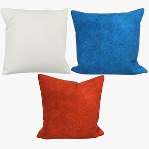 3D Sofa Pillows Collection V5 model