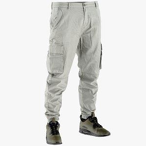 3D pants clothing model